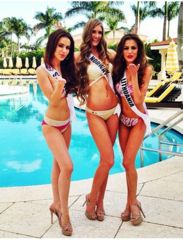 Contestants Of Miss Universe 2015 in Bikini (33 pics)
