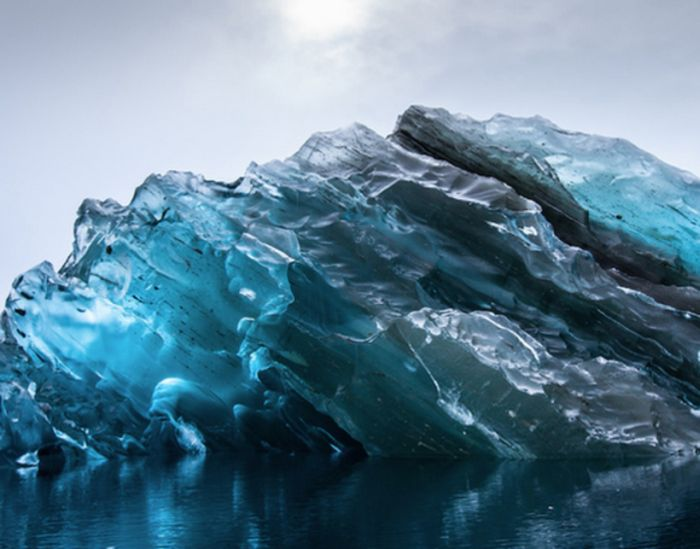 The Upside Down Iceberg (4 pics)