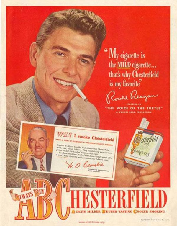 Ronald Reagan As An Advertising Spokesman Before He Was President (10 pics)