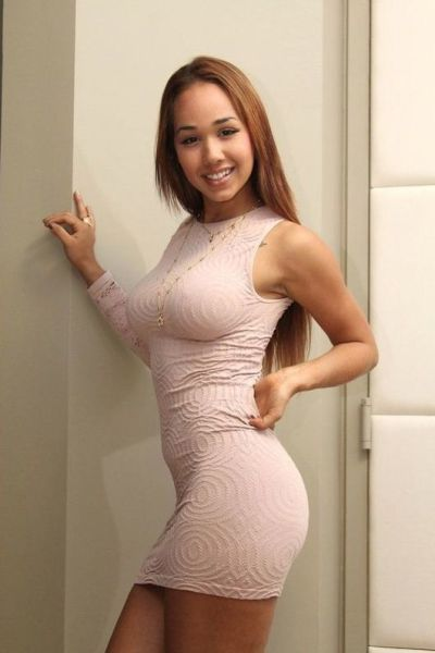 Busty Women In Tight Dresses 49
