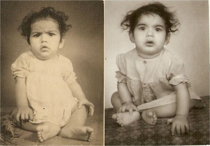Parents That Looked Exactly Like Their Kids When They Were Younger. Part 2 (28 pics)