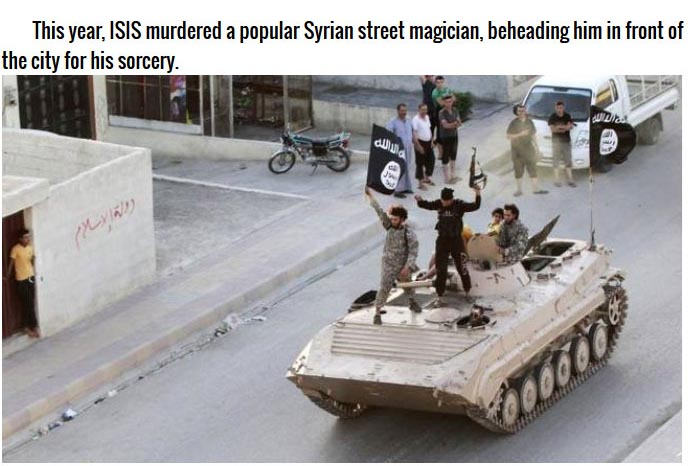 Scary Stories About ISIS (10 pics)