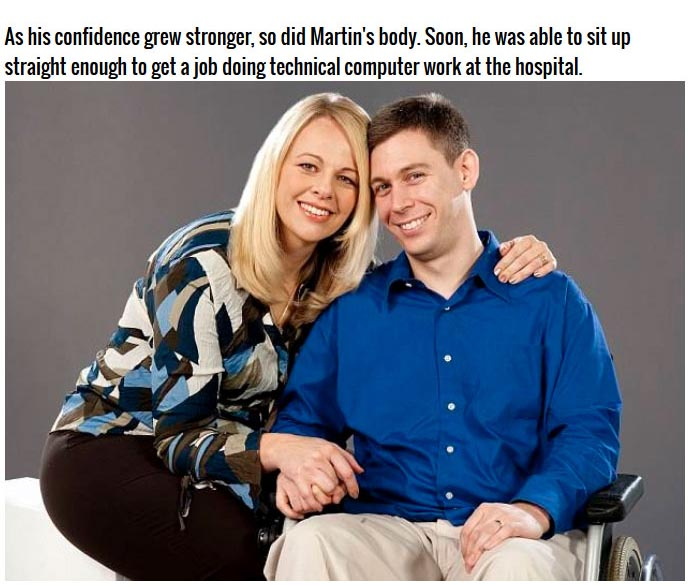 Love Helped Him Recover (8 pics)