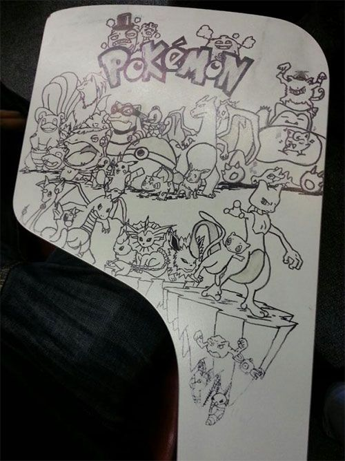 These Aren't Your Average Desk Doodles, This Is Art (22 pics)