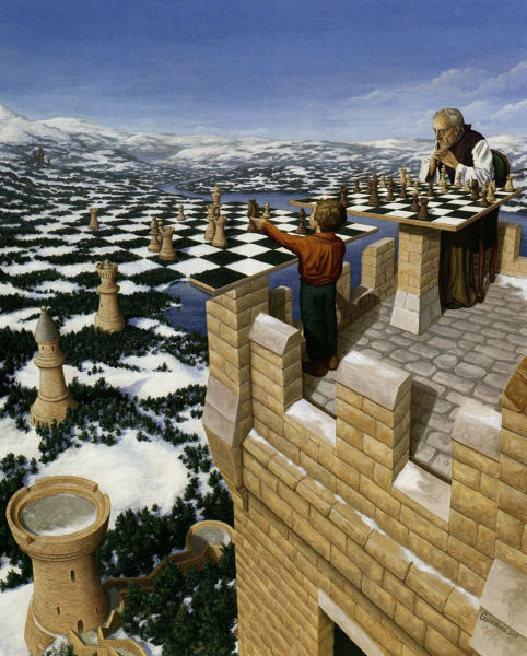 This Optical Illusion Art Will Play Tricks On Your Brain (46 pics)