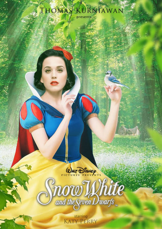 Celebrities as Real-Life Disney Characters (22 pics)