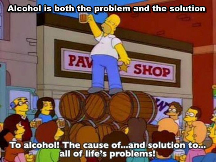 You Can Learn Everything You Need To Know From The Simpsons (24 pics)