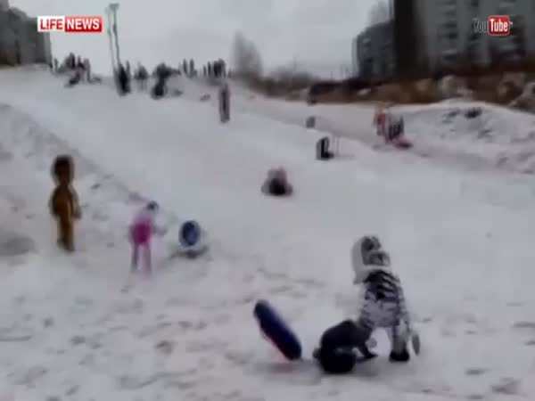 Weird Fight In Russia