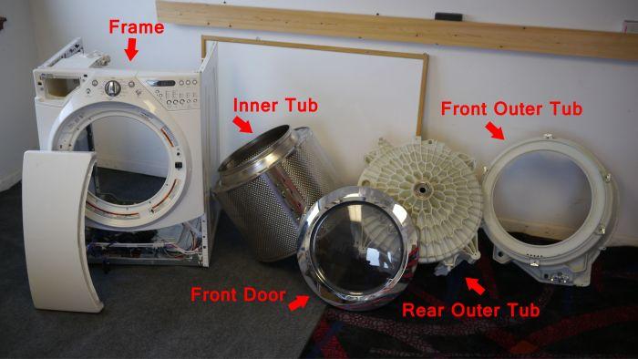 How to Turn a Broken Washing Machine Into An Aquarioum (12 pics)