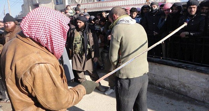 ISIS Police Give Musicians 90 Lashings For Playing A Keyboard (6 pics)