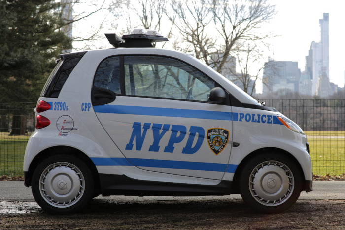 NYPD Downsizes Their Cop Cars (5 pics)