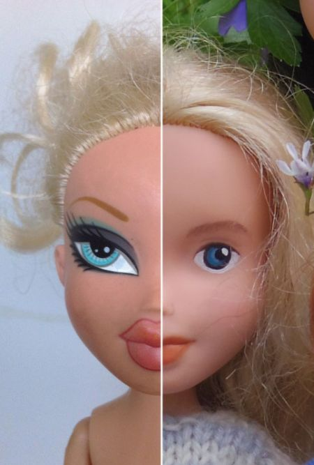 These Bratz Dolls Got Extreme 'Makeunders' (16 pics)