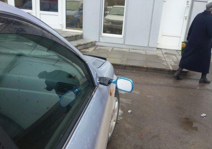 The Best Replacement Mirror Ever (3 pics)