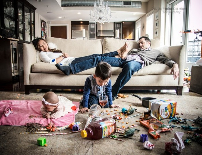 How Family Life Actually Looks (12 pics)