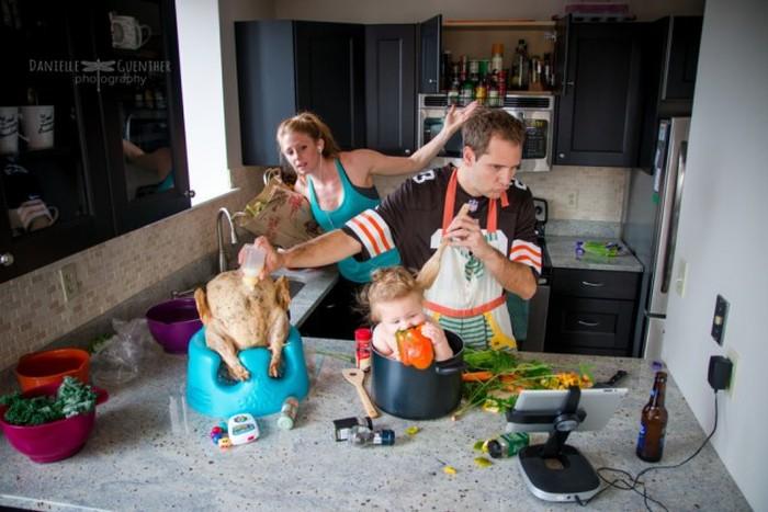 How Family Life Actually Looks (12 pics)