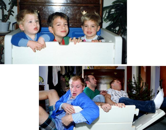 Childhood Pictures Back In The Day And Today (13 pics)