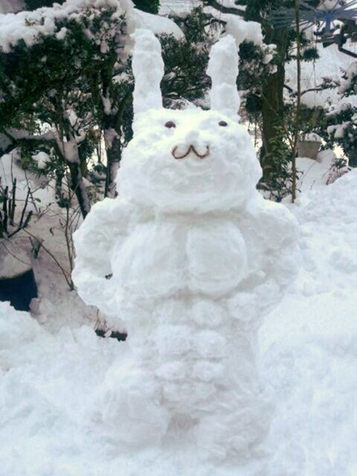 These People Have Mastered The Art Of Making Snow Sculptures (31 pics)