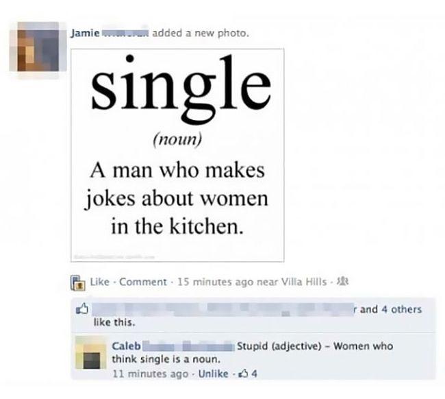 Funny dating comebacks