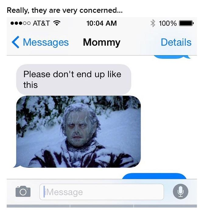 These Moms Are Taking This Big Snow Storm Very Seriously (16 pics)