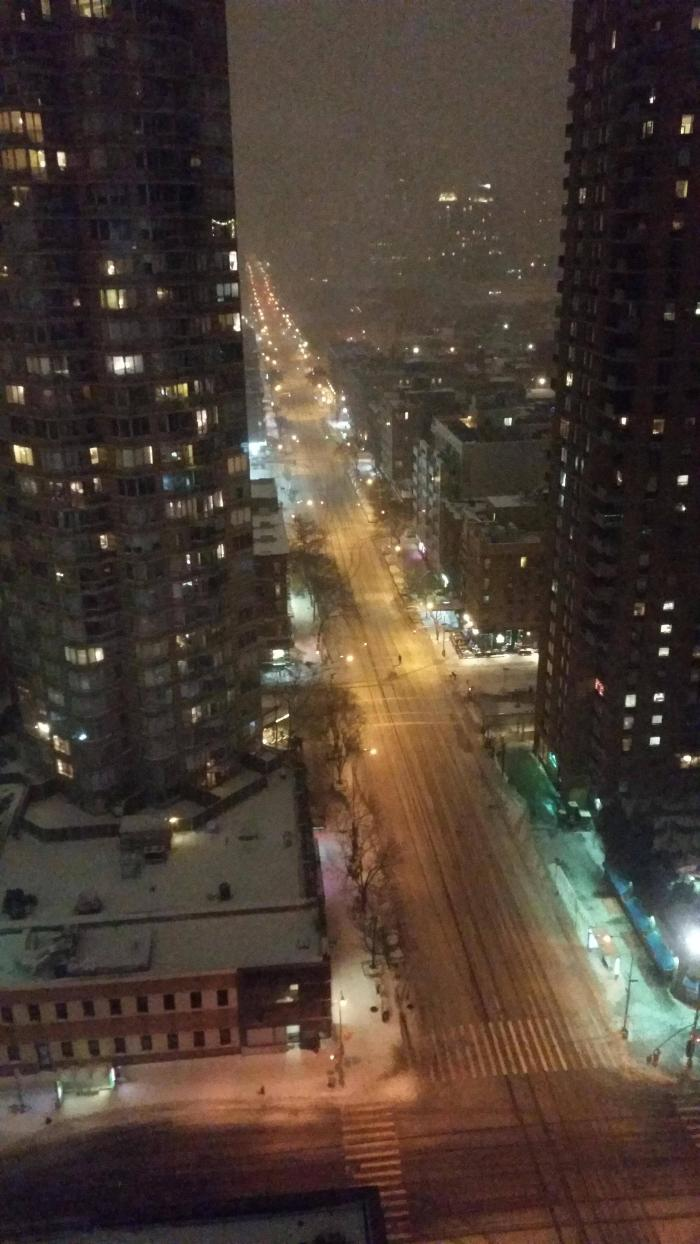 10th Avenue During The New York City Driving Ban