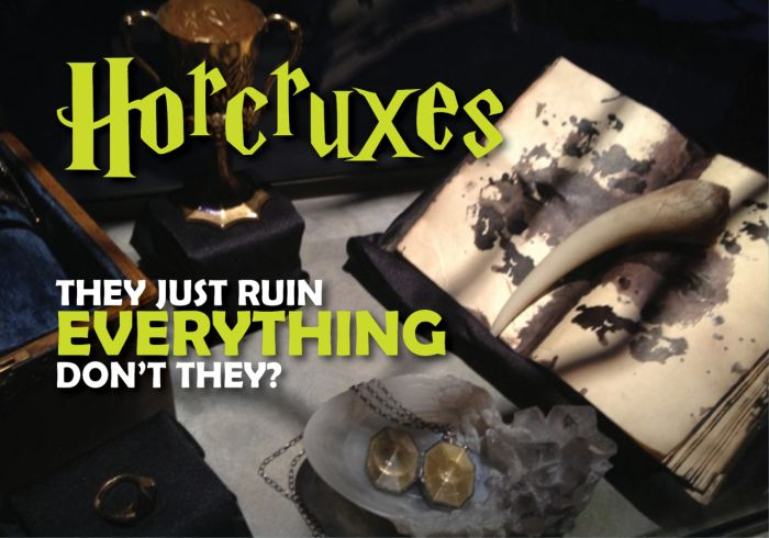 Why Horcruxes From Harry Potter Ruin Everything (7 pics)
