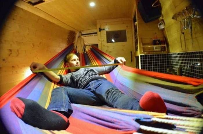 This Guy Lives In A Van And Travels Around Europe (14 pics)