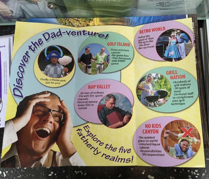 Take A Vacation At Dad Land (9 pics)