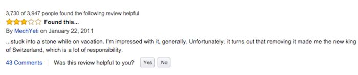Hilarious Amazon Reviews For A Giant Swiss Army Knife 10