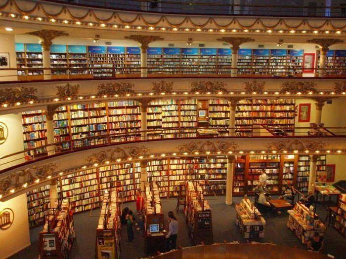 El Ateneo Grand Splendid Is A Beautiful Bookstore (13 pics)