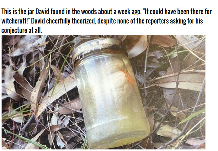 What Did This Man Find In The Woods? (3 pics)