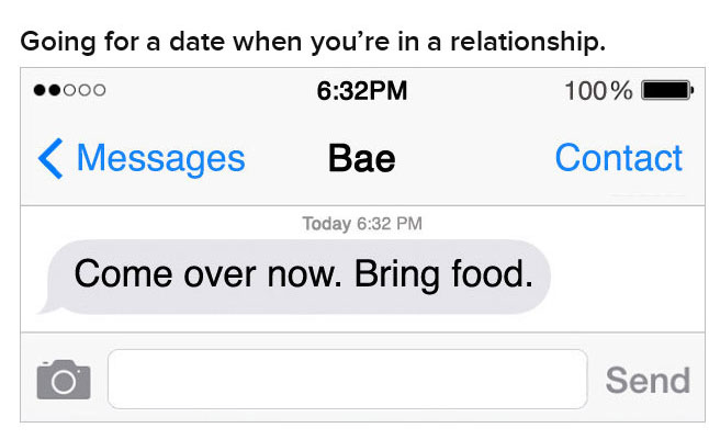 How You Text Your Crush Vs How You Text In A Relationship (22 pics)