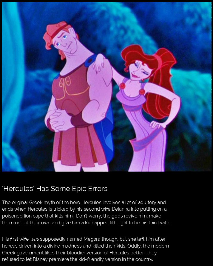The Truth About Your Favorite Disney Movies (12 pics)