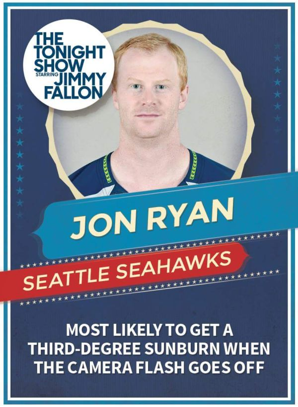 Jimmy Fallon Nailed The Descriptions Of These Super Bowl Players (16 pics)