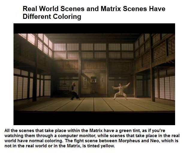 Things You Probably Didn't Know About The Matrix Trilogy (50 pics)