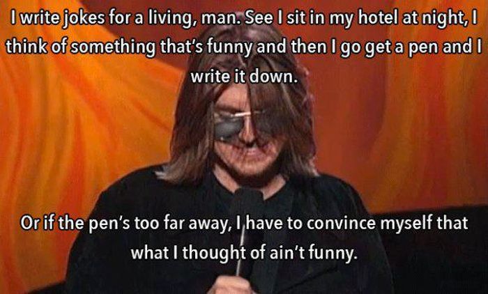 Mitch Hedberg Was Full Of So Much Wisdom (28 pics)