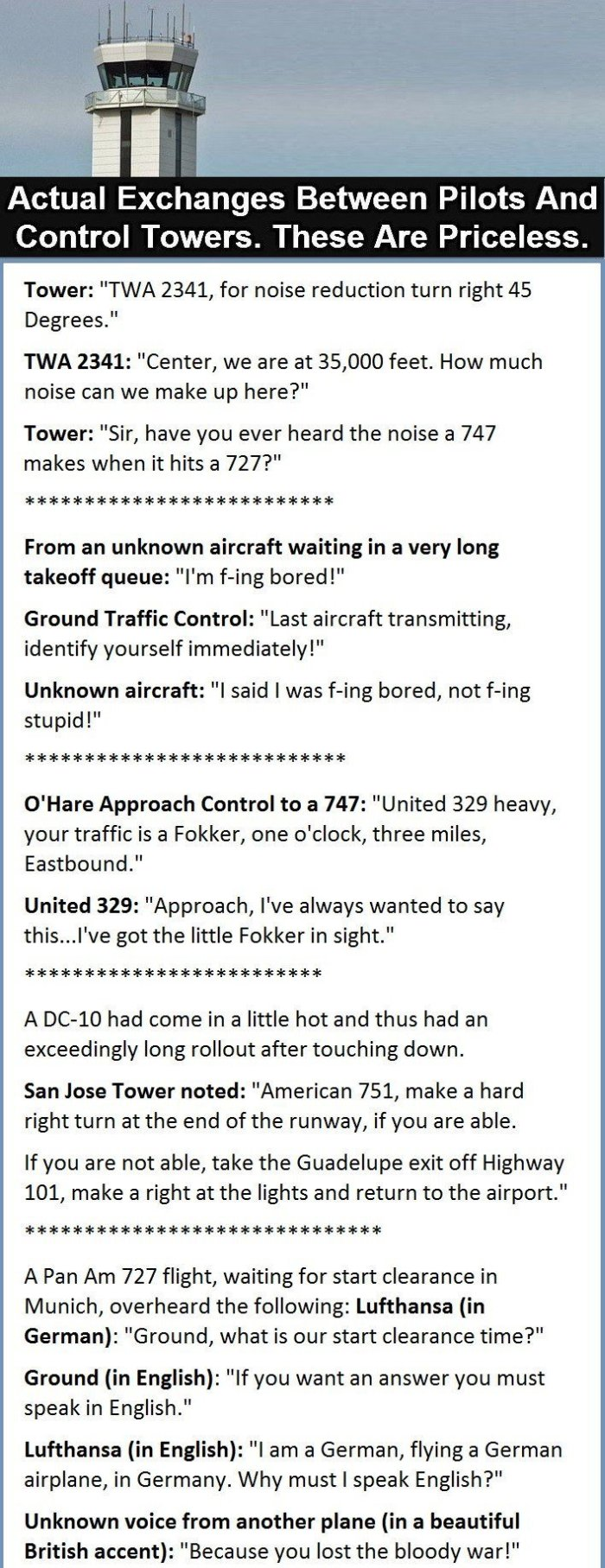 This Is What Pilots Talk About