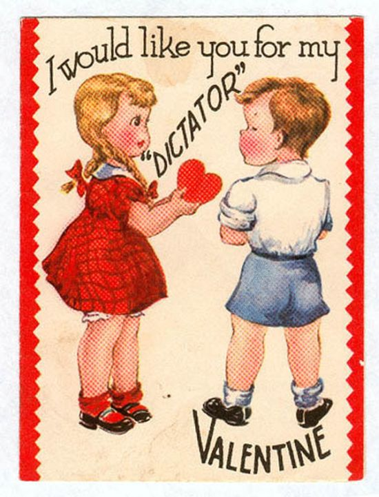 Vintage Valentines That Are Just Plain Weird (25 pics)