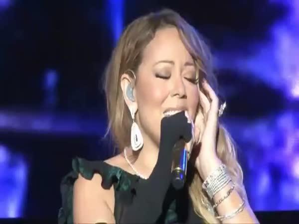 Mariah Careys Epic Cringe Worthy Lip Sync Fail
