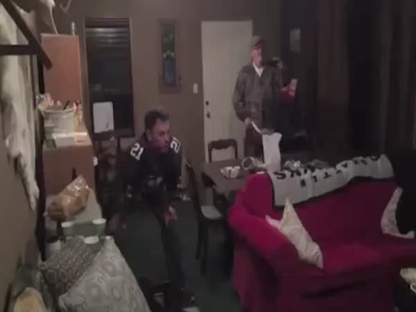 Seahawks Fan Destroys Tv After Loss
