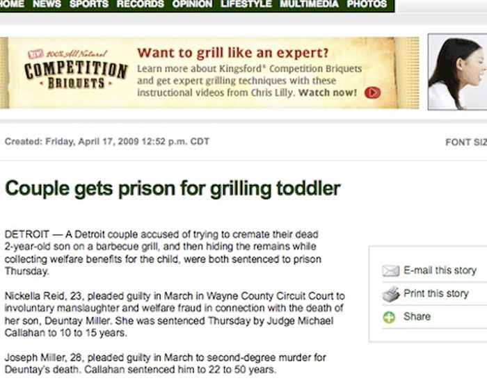 Internet Ad Placements That Are Totally Inappropriate (22 pics)