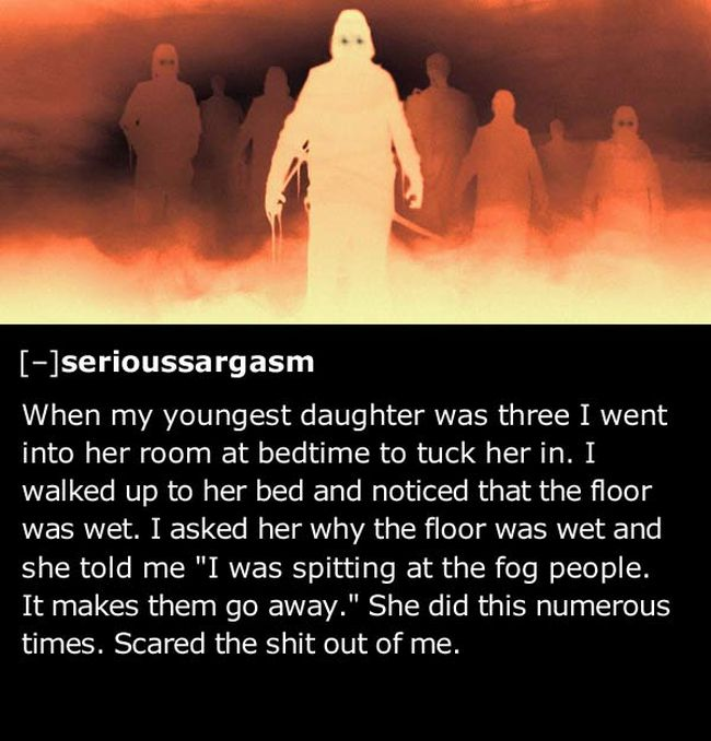 Kids Say The Creepiest Things Sometimes (41 pics)