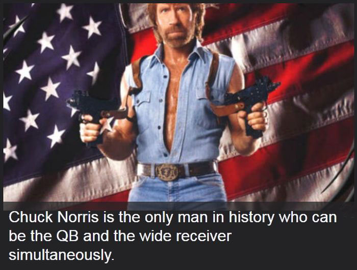 These Chuck Norris Facts Might Change Your Life (24 pics)
