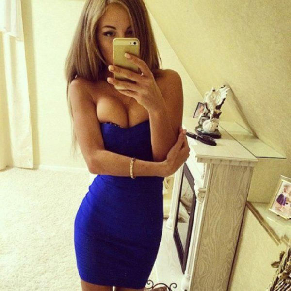 A Skin Tight Dress Is The Perfect Way To Wrap Up A Beautiful Woman (66 pics)