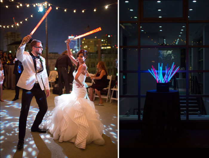 This Couple Had The Coolest Star Wars Wedding Ever (16 pics)