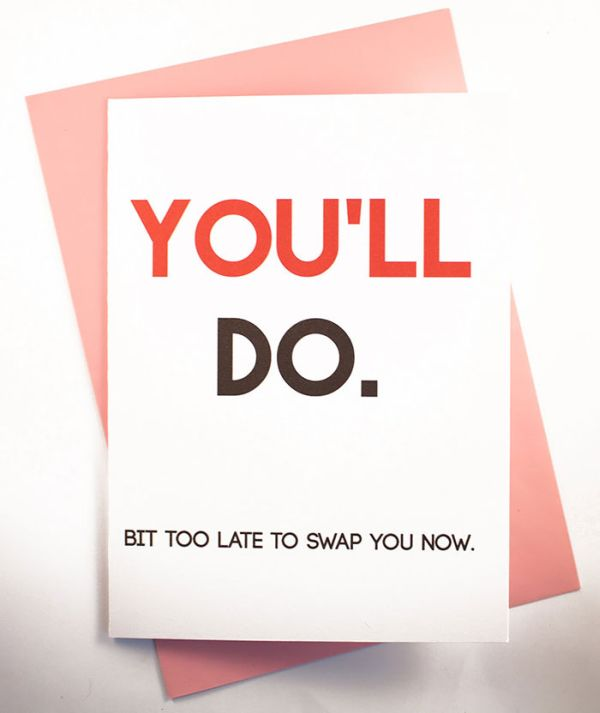 Honest Valentine's Day Cards For Honest Relationships (42 pics)