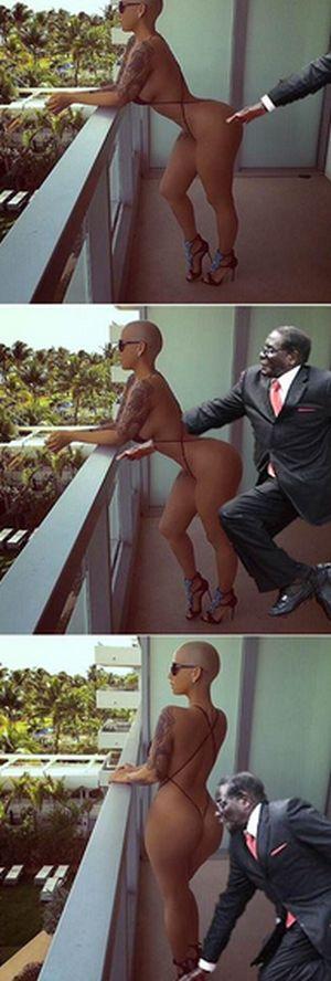 Robert Mugabe Has Become A Sensational Meme With #MugabeFalls (20 pics)