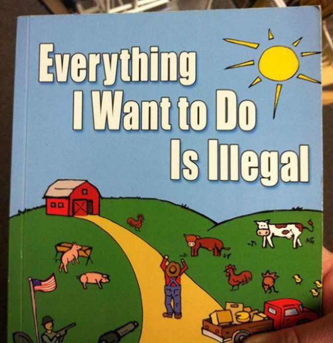 These Books Are Either Really Dumb Or Really Awesome (36 pics)