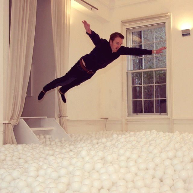 London Now Has A Giant Ball Pit For Grown Ups (8 pics)