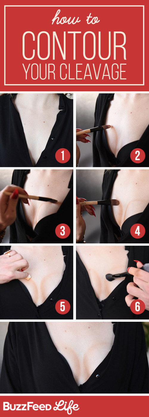 Tips That Will Help You Make Any Boobs Look Bigger (17 pics)