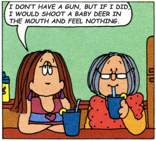 'Cathy' Comics Are So Much Funnier With Louis C.K. Quotes (10 pics)
